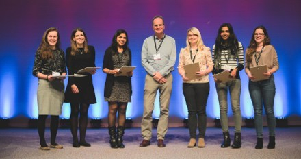Graham Williams with Award winners SfE BES 2017